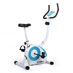 Mobi FX 250 Fahrrad-Heimtrainer Ergometer Pulsmesser max. 100 kg weiß/bl Weiß