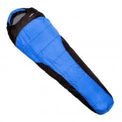 Gullfoss Schlafsack 230x80x55cm 2-lagig 1,5kg Kunstfaser blau Blau