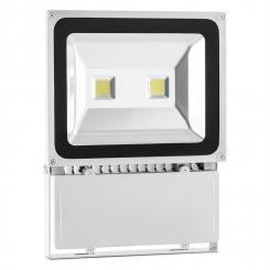 Alphalux LED-Flutlicht Fluter Strahler Warmweiß OutdoorIP65 100W gra