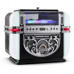 RR700 Retro Jukebox UKW/MW CD AUX LED