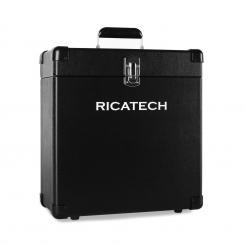 RC0042 Plattenkoffer 30 Vinyls schwarz