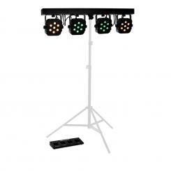 LED PARBAR 4 Way 7x10W Quad LED-Lichteffekt DMX Musiksteuerung