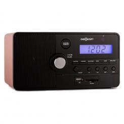 Luzern Radiowecker SD USB Braun