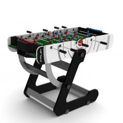 VR90 Kickertisch klappbar 82 x 140,5 x 76,5cm