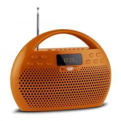 KB 308 BT Radio Digital Boombox Bluetooth USB microSD orange