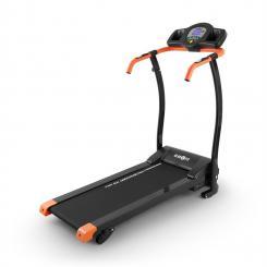 Pacemaker X3 Laufband 1,5 PS 12 km/h Pulsmesser 3 Steigungsstufen Orange