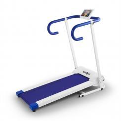 Pacemaker X1 Laufband 10 km/h Trainingscomputer weiß-blau Weiß