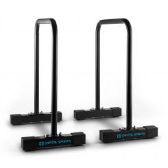 Alongs Parallettes Core-Trainer Fitness Equalizer Schwarz Schwarz