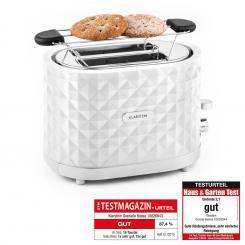 Granada Bianca Toaster 2 Schlitze 1000 W weiß Weiß