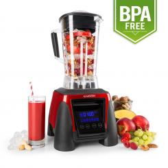 Herakles-8G-R Standmixer 1800W 2,4 PS 2L rot Green Smoothie BPA-frei Rot