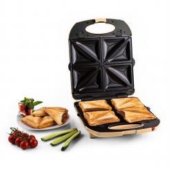Trinity 3in1 Sandwich Maker XXL 1300 W creme Creme