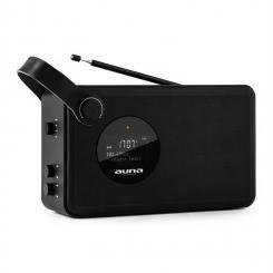Stepford DAB/DAB+ Digitalradio Bluetooth UKW AUXWecker Akku tragbar