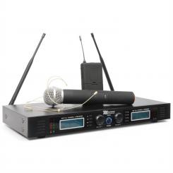 PD732C 2x 16-Kanal-UHF-Funkmikrofon-System