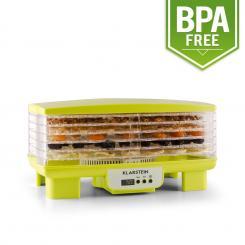 Bananarama Dörrautomat grün 550W Trockner Dehydrator 6 Etagen Grün