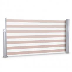 Bari 316 Seitenmarkise Seitenrollo 300x160cm Aluminium creme/weiß creme_white | 160 cm