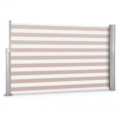 Bari 318 Seitenmarkise Seitenrollo 300x180cm Aluminium creme/weiß creme_white | 180 cm