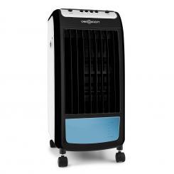 CarribeanBlue Luftkühler Lufterfrischer Ventilator 70W weiß/schwarz Weiß