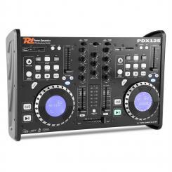 PDX125 Dual-DJ-Player-Controller-2-Kanal-Mixer CD USB SD MP3