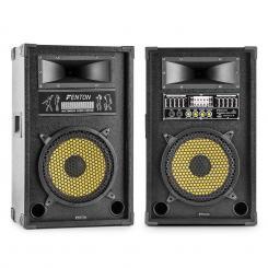 "SPA1200Y PA-Boxen-Paar 30cm (12"") 1200W max. USB SD MP3 EQ 30 cm (12"")"