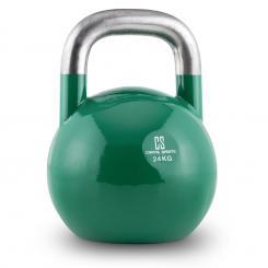 Compket 24 Competition Kettlebell Kugelhantel Stahl 24kg grün 24 kg