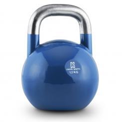 Compket 12 Competition Kettlebell Kugelhantel Stahl 12kg Blau 12 kg