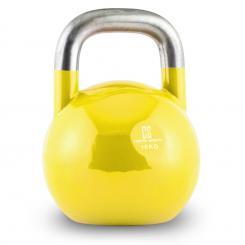 Compket 16 Competition Kettlebell Kugelhantel Stahl 16kg Gelb 16 kg