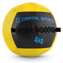 Epitomer Wall Ball 4kg Kunstleder gelb 4 kg