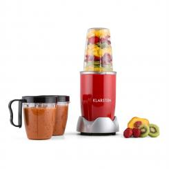 NutriRocket Mixer Smoothiemaker Multifunktionsgerät 10-tlg. 700W rot Rot