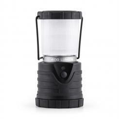Yandromeda Campinglaterne LED 400 Lumen 12m 150h rund schwarz