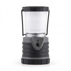 Yaquila Campinglaterne LED 400 Lumen 12m 150h rund grau