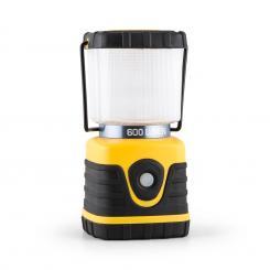 Yantlia Campinglaterne LED 600 Lumen 150h 15m Akku eckig gelb Gelb