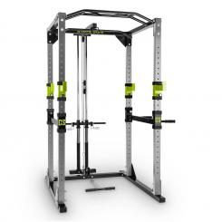 Tremendour Pl Power Rack Homegym Latzug Stahl grün Grau | WITH_LAT_PULL