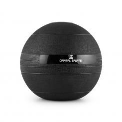 Groundcracker Slamball schwarz Gummi 10kg 10 kg