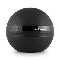 Groundcracker Slamball schwarz Gummi 18kg 18 kg
