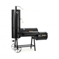 Monstertruck Smoker Grill BBQ Räucherofen Stahl schwarz