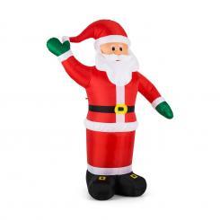 Mr. Klaus aufblasbarer Weihnachtsmann 240cm Gebläse LED