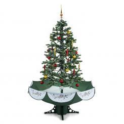 Everwhite Green Schneiender Weihnachtsbaum 180cm LED Musik grün