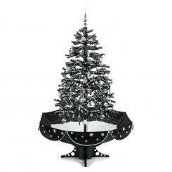 Everwhite Schneiender Weihnachtsbaum 180cm LED Musik schwarz