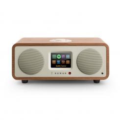 One - 2.1 Design Internet Radio 20W Bluetooth Spotify Connect DAB+ Walnuss Walnuss