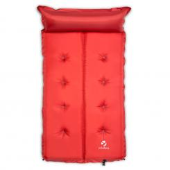 Goodbreak 10 Isomatte Doppel-Luftmatratze 10cm dick Kopfkissen rot Rot | 10 cm