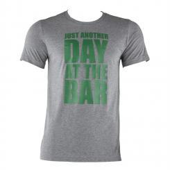 Trainings-T-Shirt für Männer Size S Grau meliert Grau   S