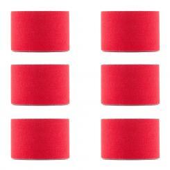 Bondies Kinesiologie Tape 6 Rollen 5 cm breit 5 m lang elastisch Rot