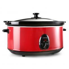Bristol 65 Slow Cooker Schongarer 6,5 Liter 300W rot Rot
