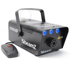 S700LED Nebelmaschine 700W 3x1W LED Eis-Effekt inkl. Fernbedienung, Bügel