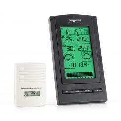 Isfjorden Wetterstation Alarm Batteriebetrieb 1 x Funk-Außensensor