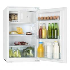 Coolzone 120 Einbaukühlschrank 105L Kühlschrank 15L Gefrierfach A+ Weiß | 120 Ltr