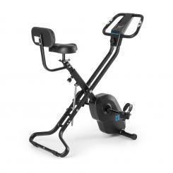 Azura X2 X-Bike bis 120 kg Pulsmesser klappbar 4 kg schwarz Schwarz