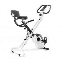 Azura X1 X-Bike bis 120 kg Pulsmesser klappbar 4 kg weiß Weiß