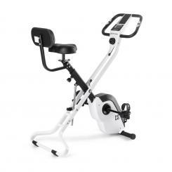Azura X2 X-Bike bis 120 kg Pulsmesser klappbar 4 kg weiß Weiß