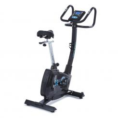 Durate X77 Cardiobike Heimtrainer 4 kg Puls Computer schwarz Schwarz